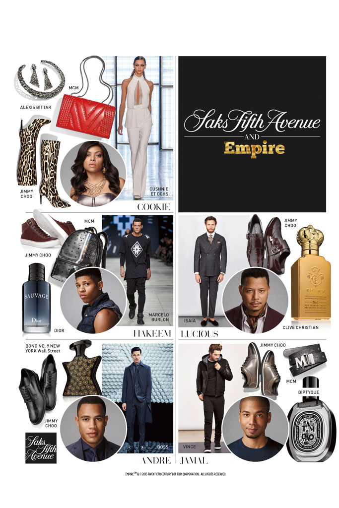 Empire at Saks Fifth Avenue