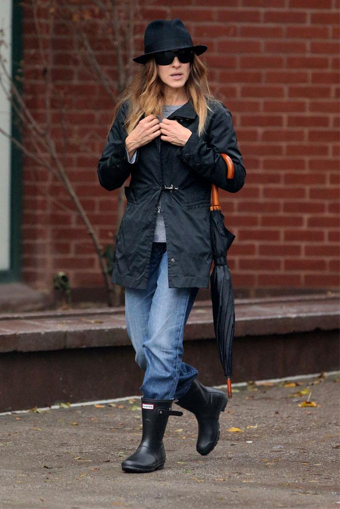 Celebrities In Hunter Boots