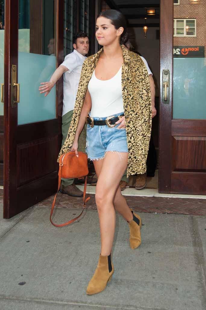 Selena Gomez boots