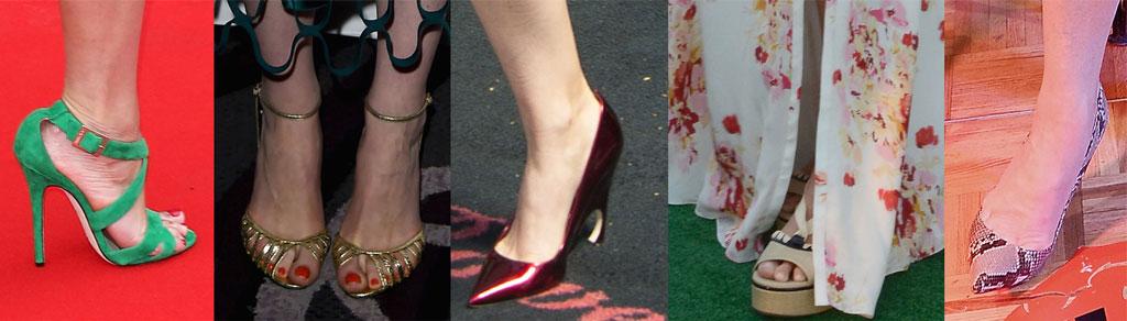 Gemma Arterton, Michelle Dockery, Kate Mara, Gwyneth Paltrow, Meryl Streep