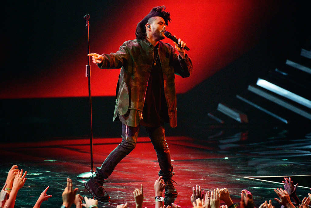 The Weeknd MTV Video Music Awards VMA 2015