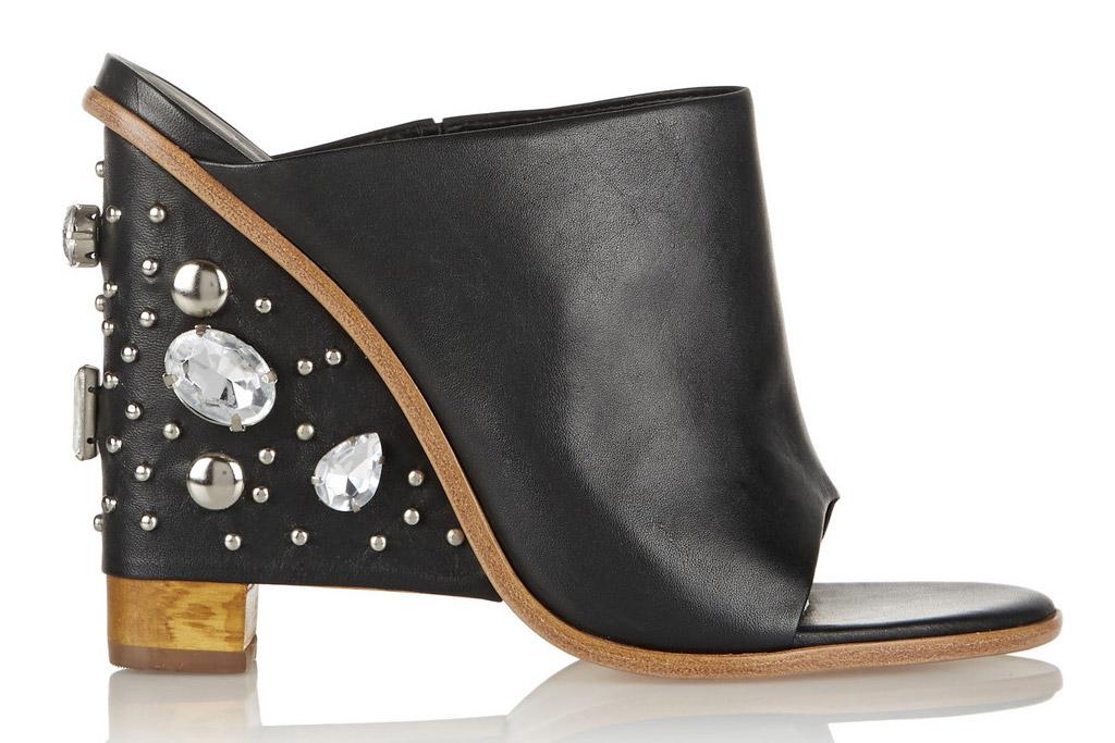 tibi embellished heel