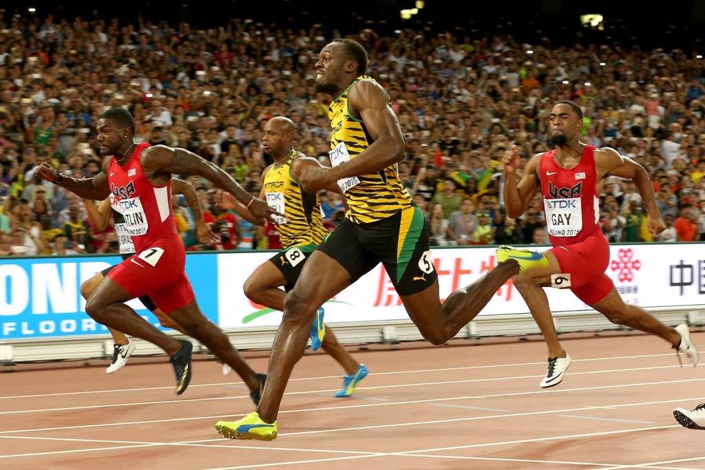 Usain Bolt Wins 100M at IAAF World Championships ...
