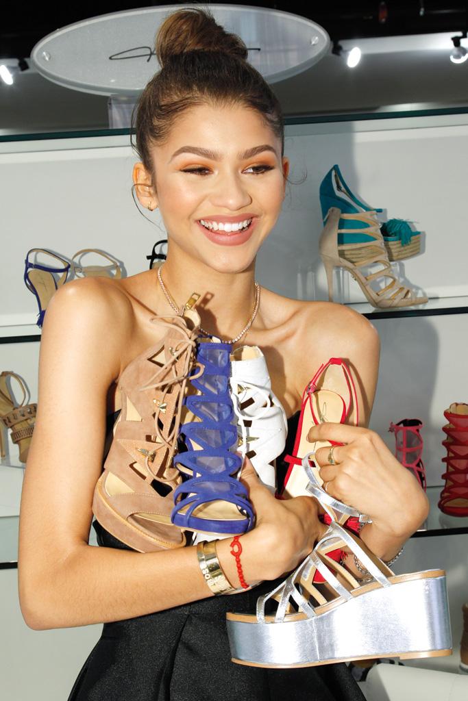 Zendaya Shoe Line Daya