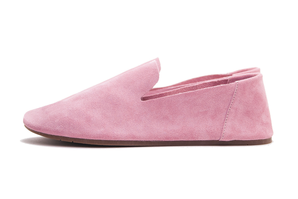 zuzii pink loafer