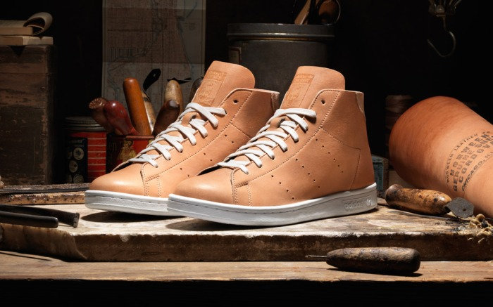 Adidas Stan Smith Horween Leather pack mid