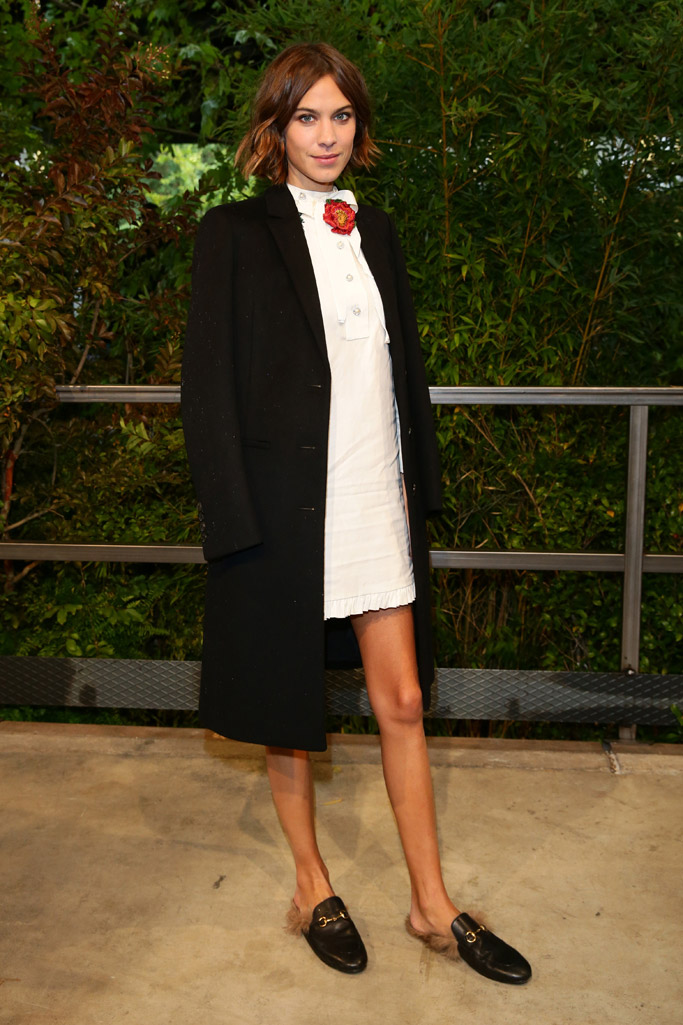 Alexa Chung Celebrity Statement Shoes
