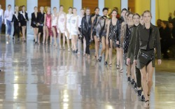 Anthony Vaccarello Spring 2016 Paris Fashion