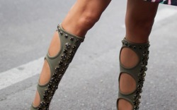 Best Street Style Shoes Milan Fashion Week