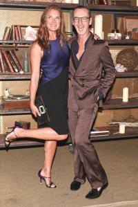 Brooke Shields & Bruno Frisoni