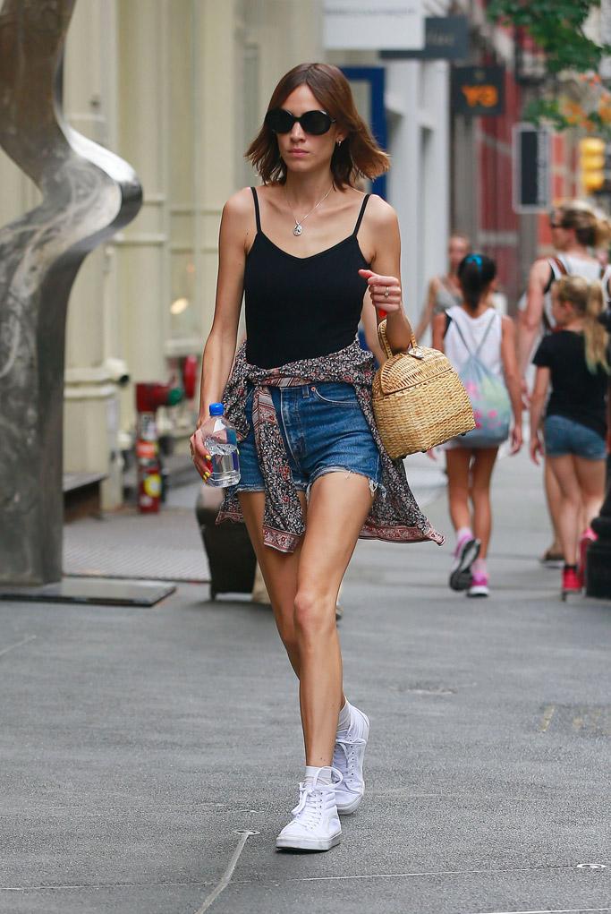 Alexa Chung Shoe Style