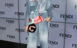 Fendi Milan Fashion Week Front Row