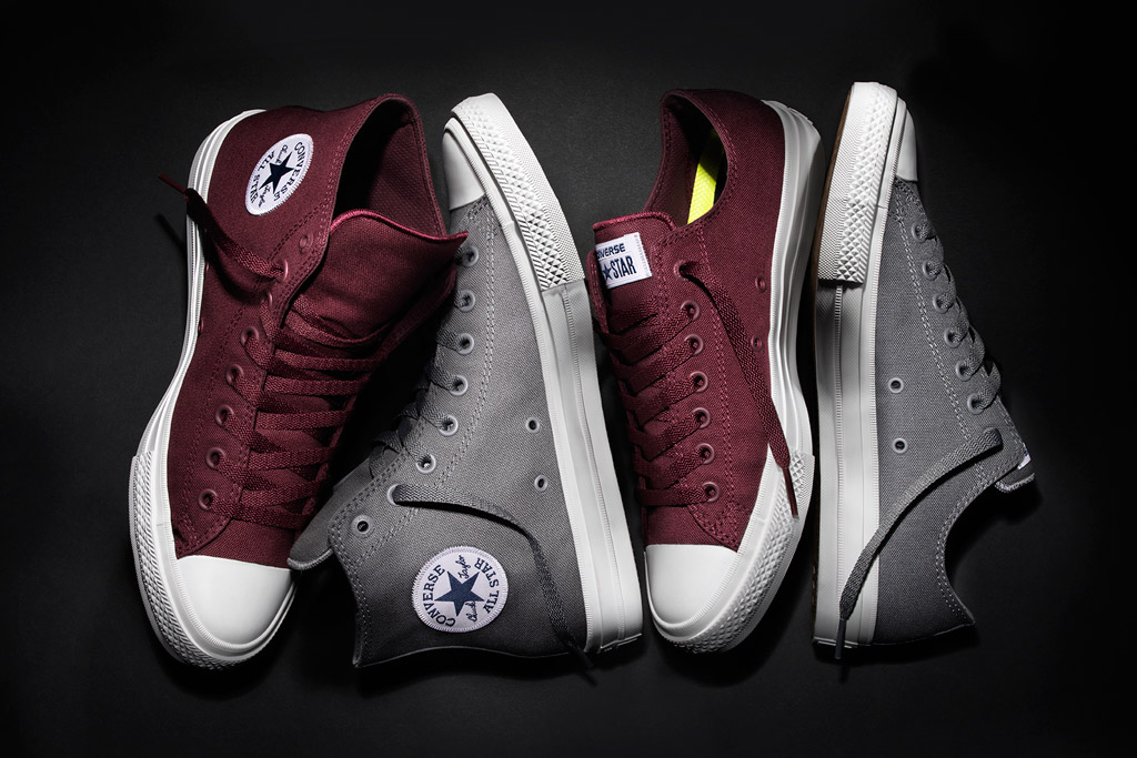 Converse Chuck Taylor All Star II Bordeaux Low Oxford