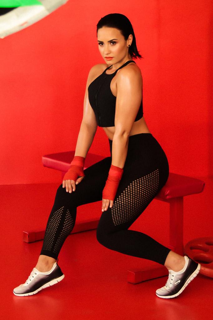 Demi Lovato Skechers camaign