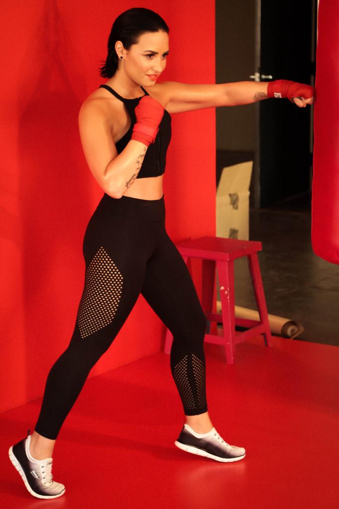 Demi Lovato Skechers