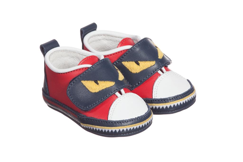 Fendi Crib Shoes