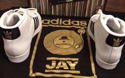 Jam Master Jay Adidas Superstar Run