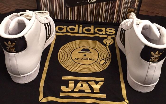 Jam Master Jay Adidas Superstar Run DMC