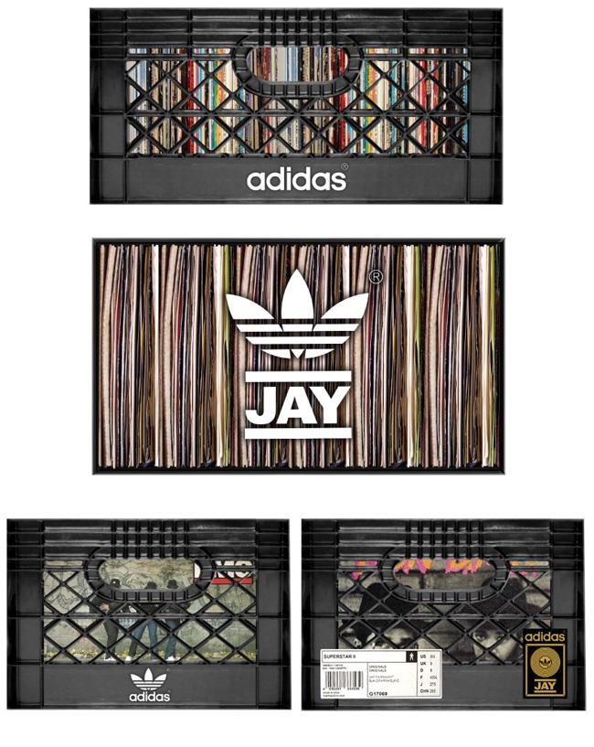 Run DMC Jam Master Jay Superstar Adidas Box