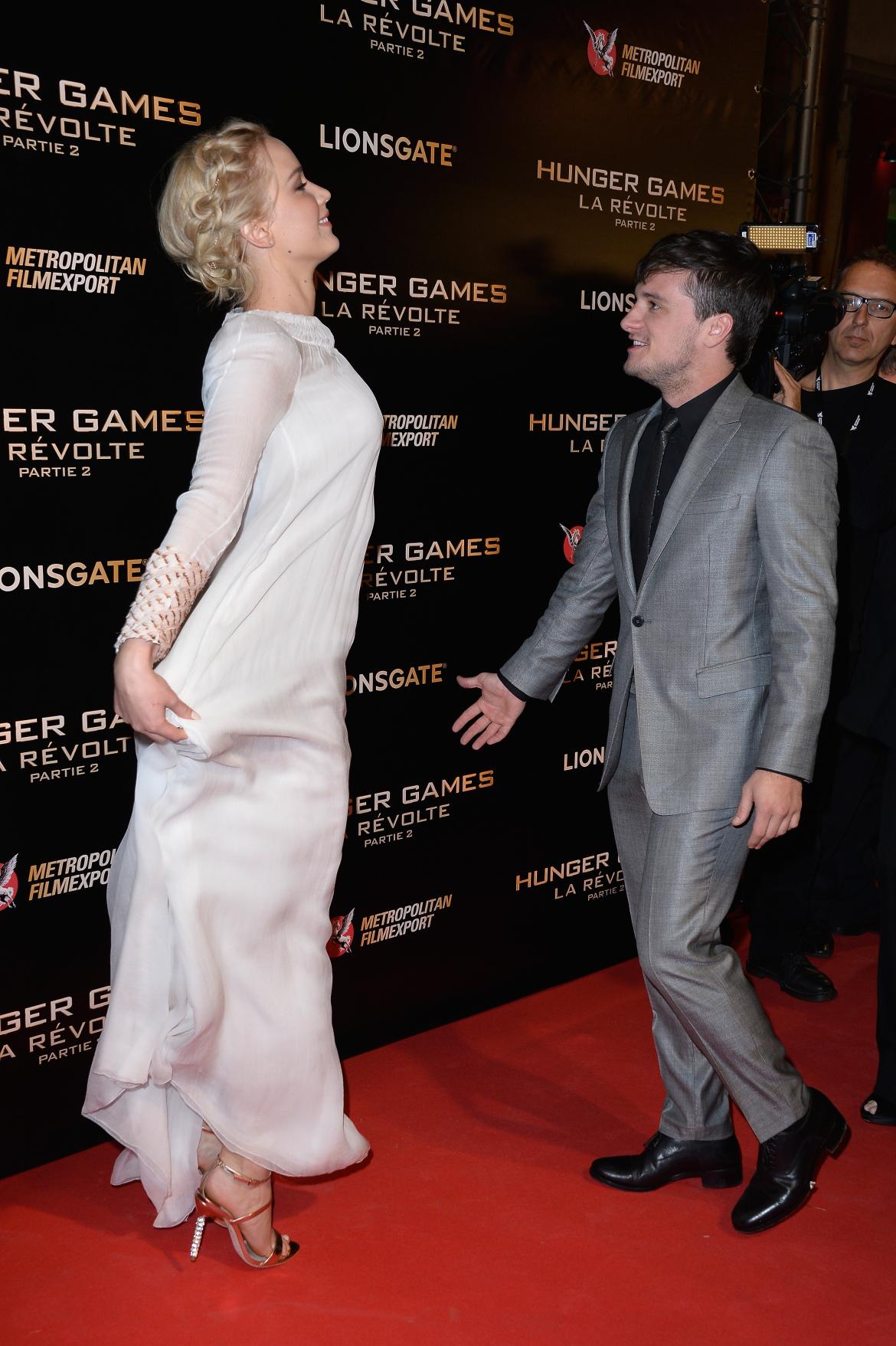 Jennifer Lawrence Celebrity Statement Shoes Fall 2015