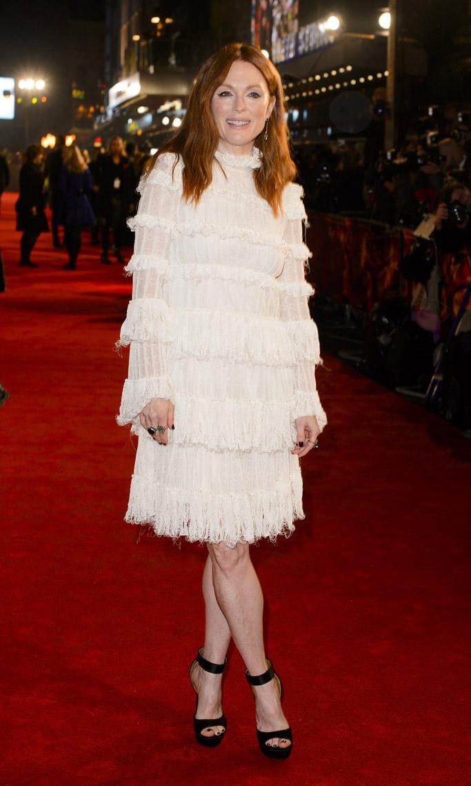 Julianne Moore Celebrity Statement Shoes Fall 2015