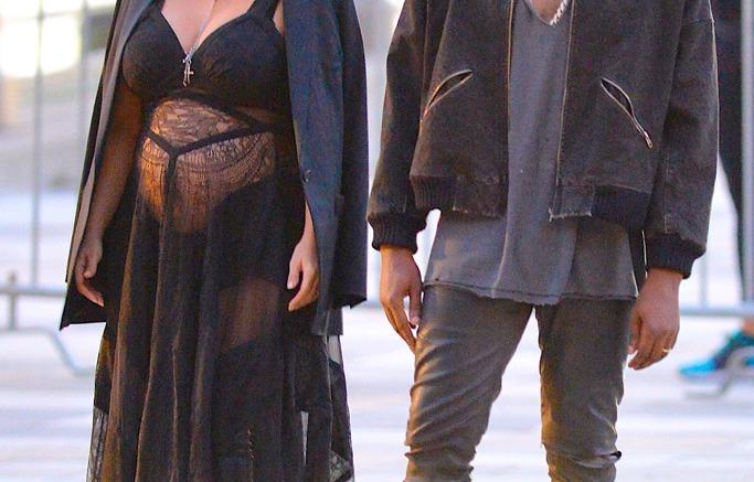 KIm Kardashian & Kanye West Givenchy
