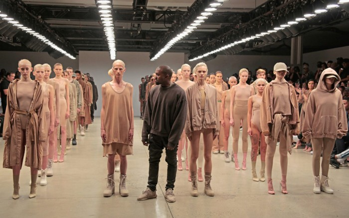 Kanye West Yeezy Season 2 Spring 2016 New York Fashion Week