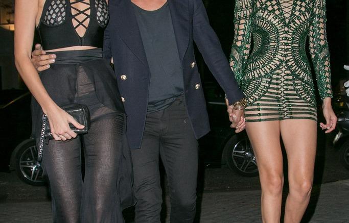 Kendall Jenner Gigi Hadid Balmain Paris