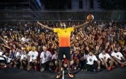 Kevin Durant's European Tour With Nike