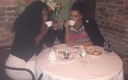 Kim Kardashian West & Serena Williams