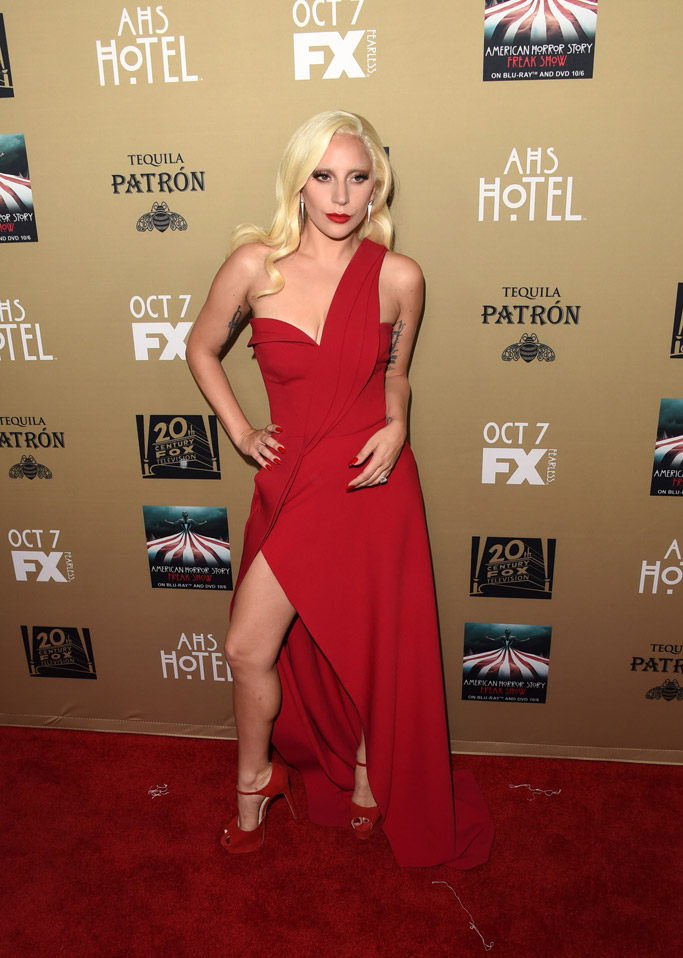 Lady Gaga Celebrity Statement Shoes Fall 2015