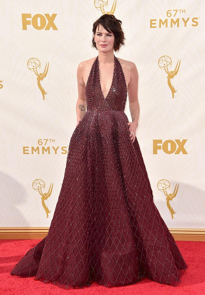 Lena Headey 2015 Emmy Awards