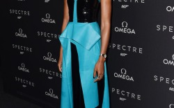 Naomie Harris Celebrity Statement Shoes Fall