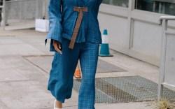 New York Fashion Week Street Style Sneakers