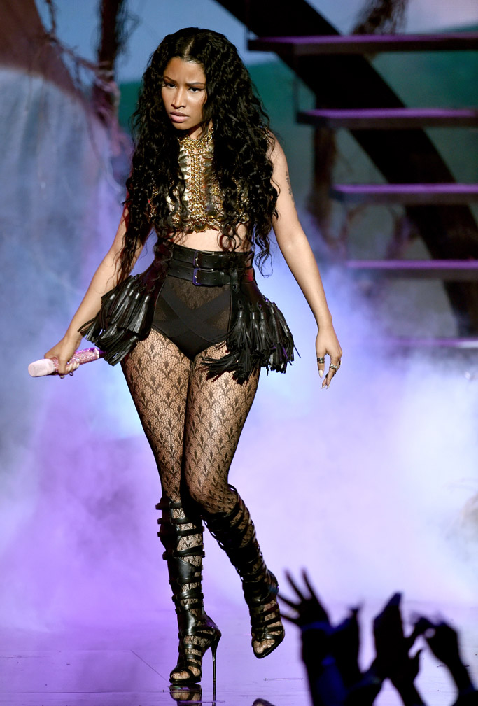 Nicki Minaj Shoes Style