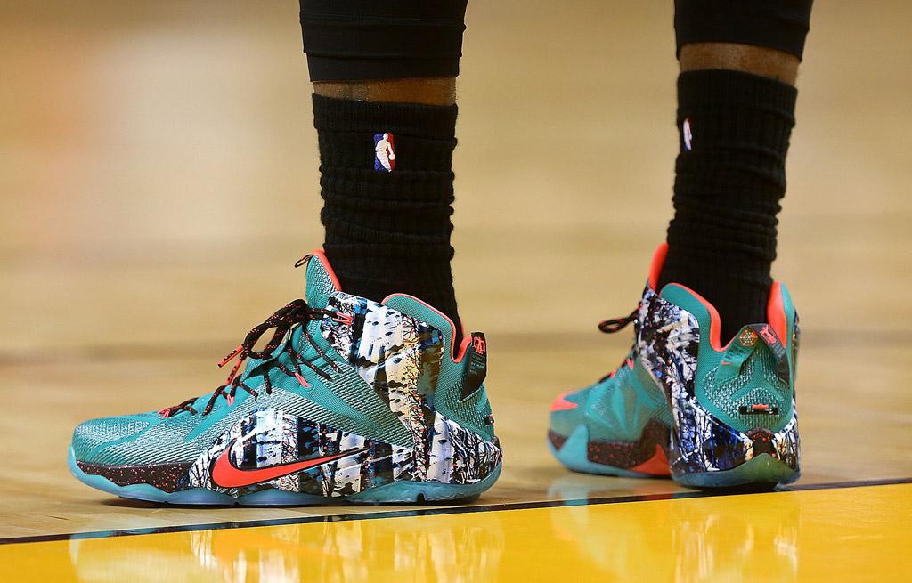 LeBron James' Best On-Court Sneaker