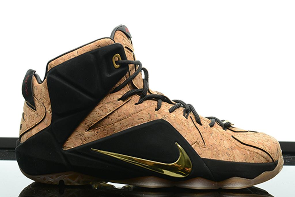 lebron james cork shoes