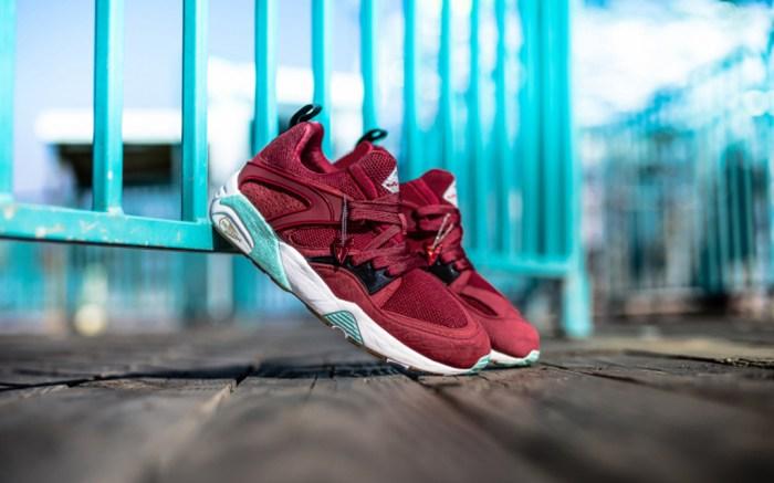 Packer Shoes x Puma x Sneaker Freaker Bloodbath Blaze of Glory