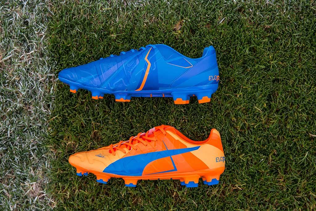 Puma Debuts Soccer Cleats in Dual
