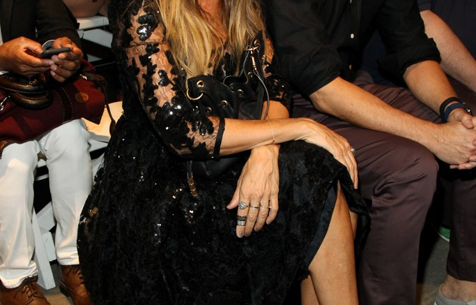 Sarah Jessica Parker Tracy Reese Spring 2016 New York Fashion Week