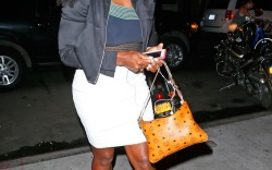 Serena Williams Wearing Sneakers with Skirts and Dresses