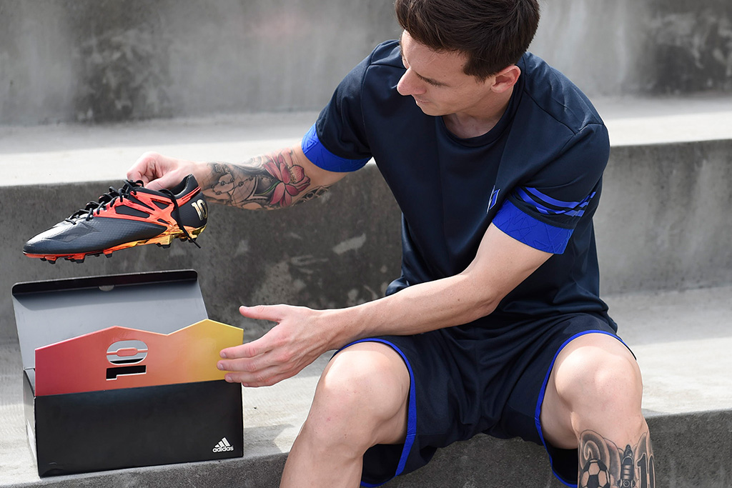 Adidas Reveals Exclusive Messi Cleat