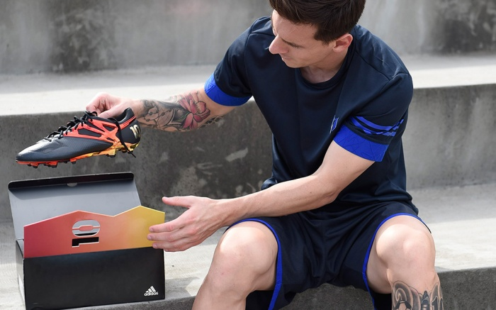 viceversa Policía Marchito  Adidas Reveals Exclusive Messi Cleat: Only 100 Pairs – Footwear News