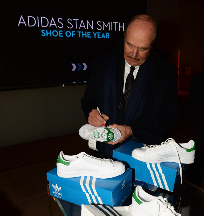 Kanye West Yeezy Boost Shoe of Year 2015 Footwear News Achievement Awards