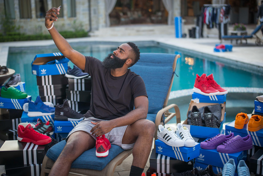 Adidas Delivers Shoes James Harden