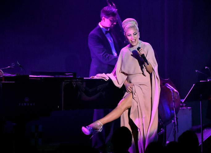 Lady Gaga amfAR gala