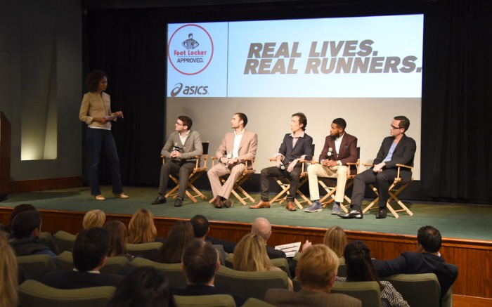 Sage Steele Asics Foot Locker Real Lives Real Runners video