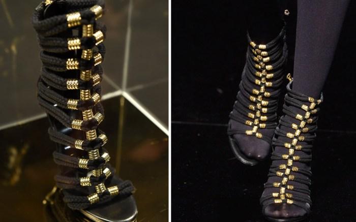 Balmain x H&M Shoes