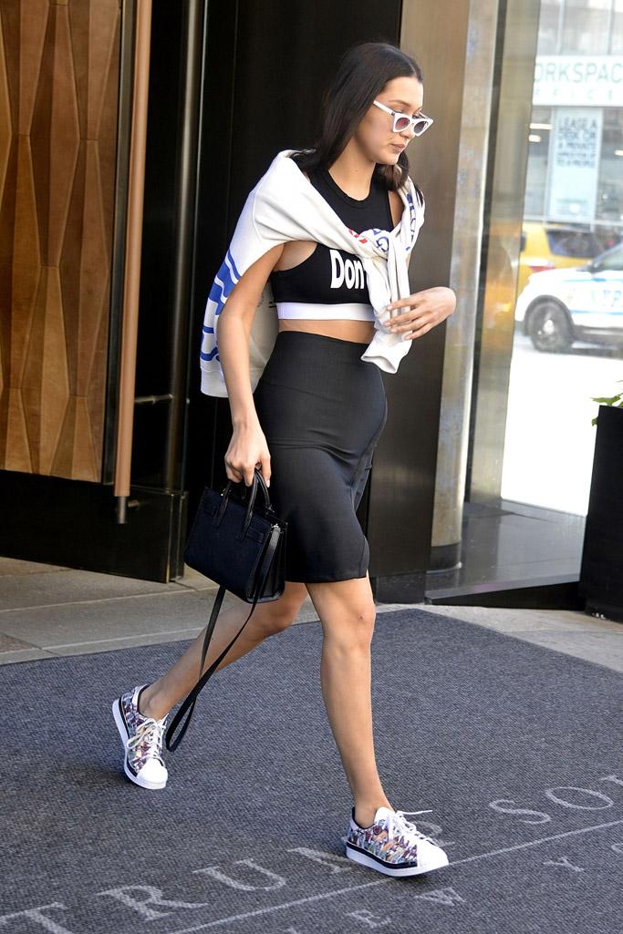 Bella Hadid Shoes Style