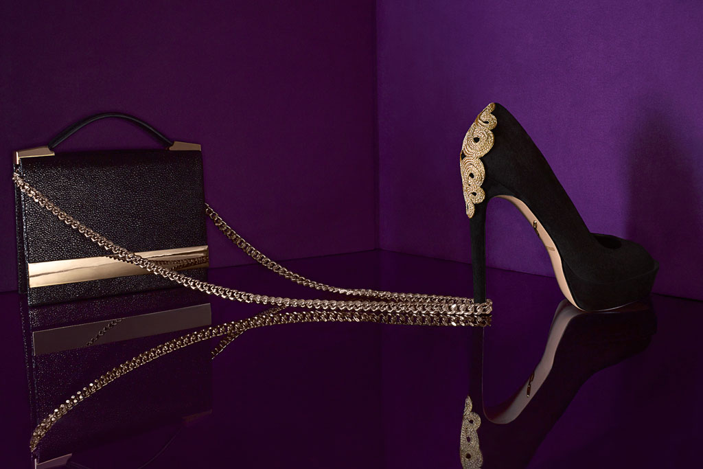 An image from the B Brian Atwood holiday campaign.